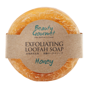 Exfoliating Loofah Soap Honey 100gr
