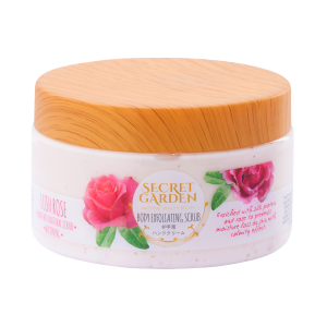 Body Exfoliating Scrub Lush Rose with Whitening 250gr